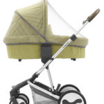 Carrycot insect net.