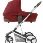 Hybrid Edge carrycot side Lava Red