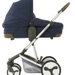 Hybrid Edge carrycot side Simply Navy