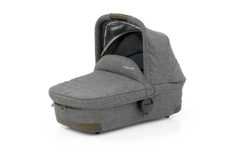 Hybrid stroller carry cot accessory