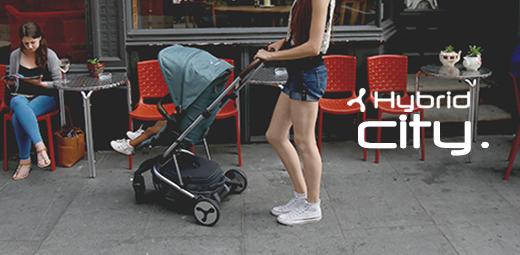 Hybrid City Stroller