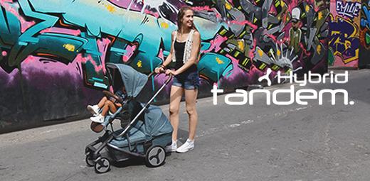 Hybrid Tandem Stroller