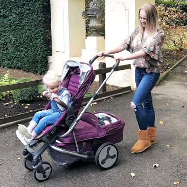 Little Snippets Hybrid Stroller Review