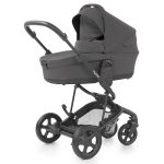 Hybrid Edge2 stroller with carrycot - slate