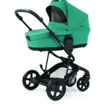 Hybrid Edge2 stroller with carrycot - lagoon
